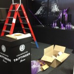 Taittinger champagnes beursstyling