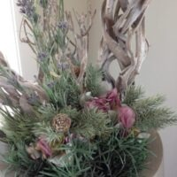 Zijdebloemen decoratie