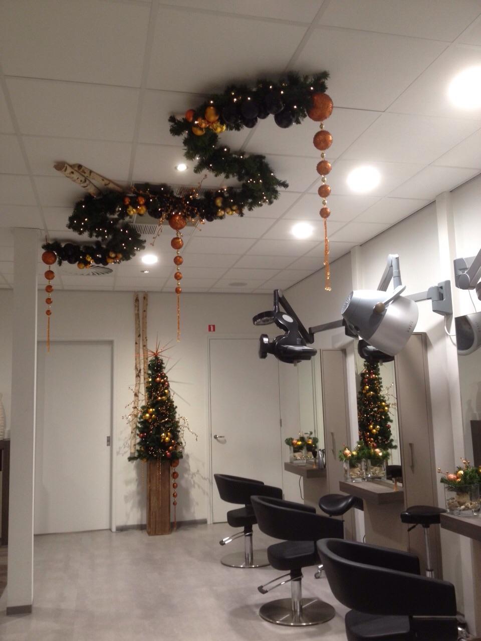 Plafond decoratie rich art design etaleur kerst - Decoratie epuree salon ...