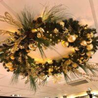 Kerst krans decoratie