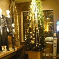 Kerstbomen Vrouwen mode zaak