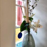 Zijde bloemen en planten verhuur