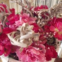 Decoratie verhuur zijde bloemen