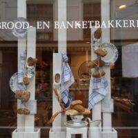 Brood en banketbakkerij etalage