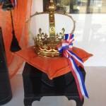 winnaar oranje etalage wedstrijd Weesp