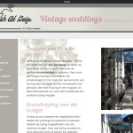 Vintage weddings styled by Rich Art Design